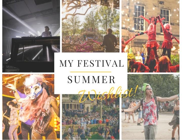 My 2016 Summer Festival Wishlist +WIN Tickets to Rock en Seine!