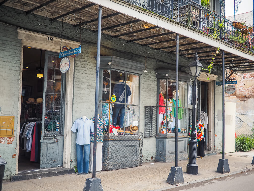 french quarter shopping