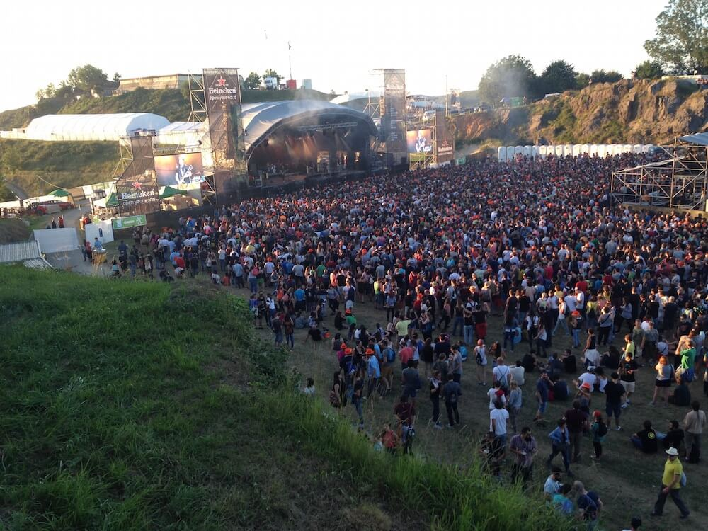 Bilbao BBK Live Festival security