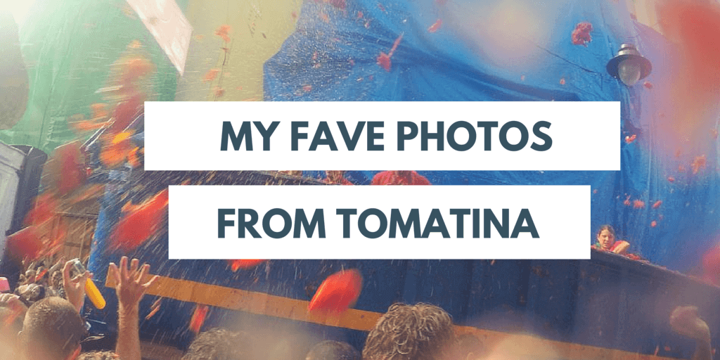 favourite photos from Tomatina