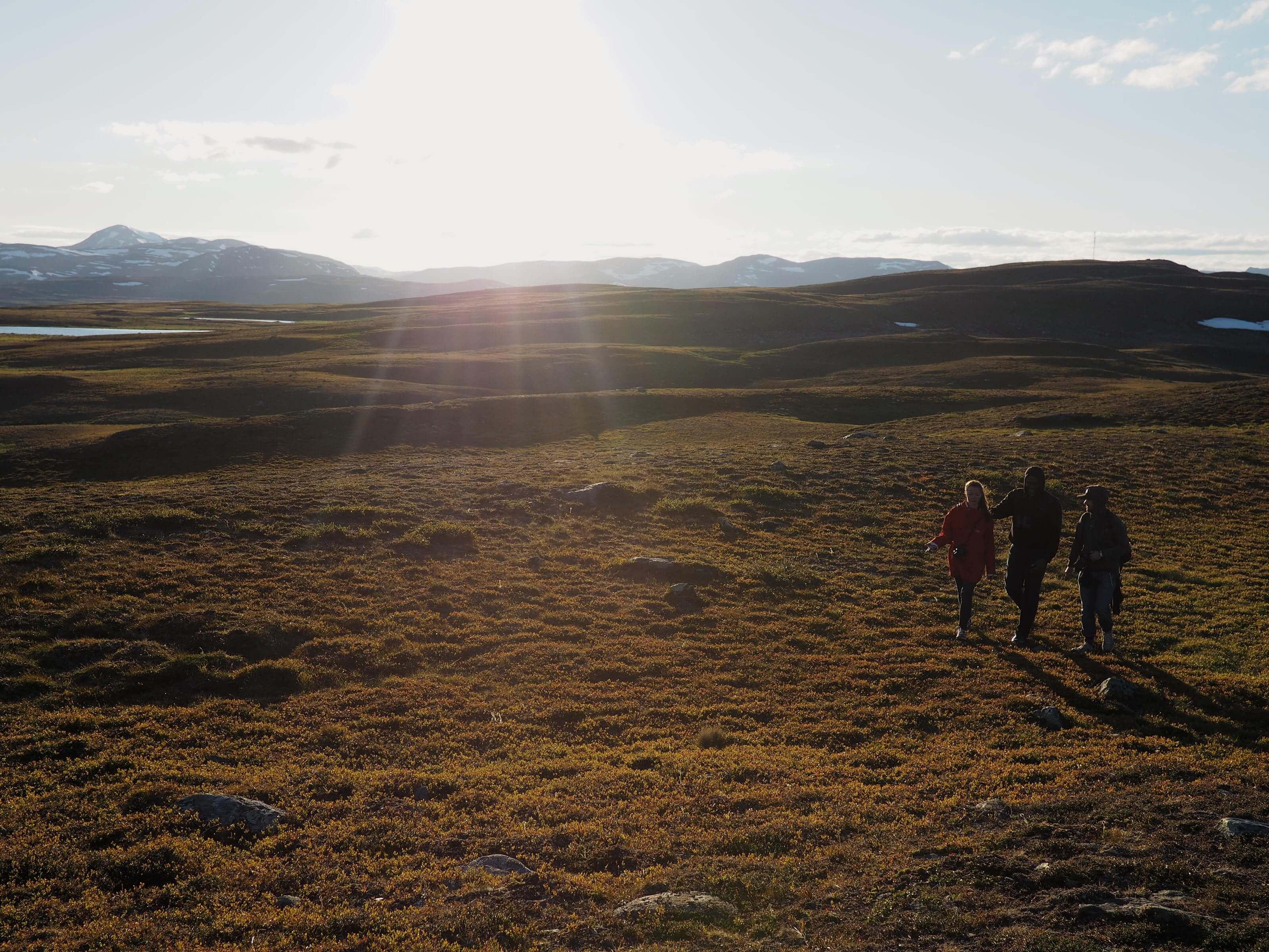 South Lapland walking around