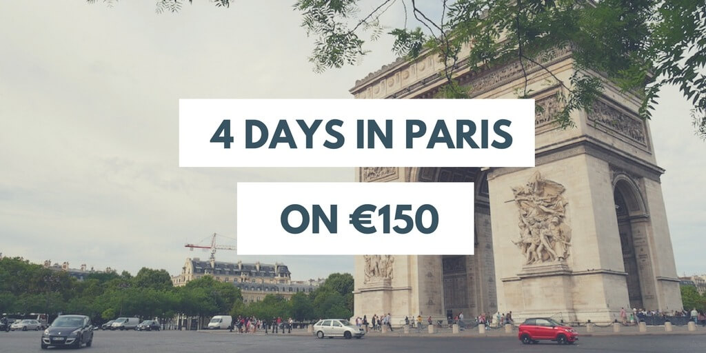 4 days in Paris cheap