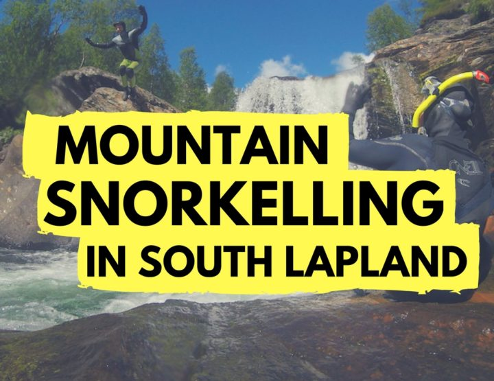 I Went Mountain Snorkelling in South Lapland