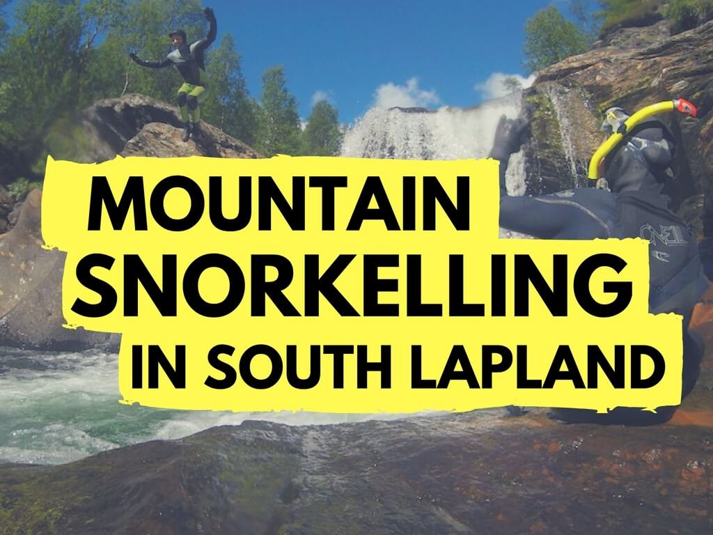 South Lapland mountain snorkelling