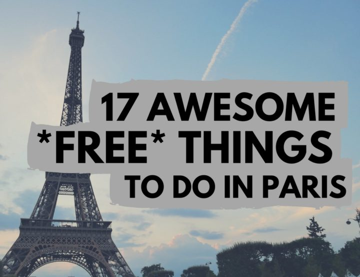 17 Awesome *FREE* Things to Do in Paris