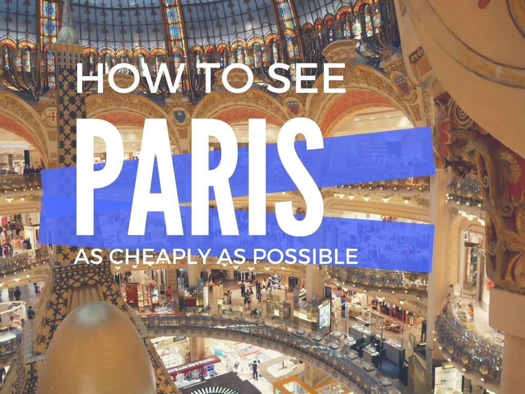 Cheap Paris