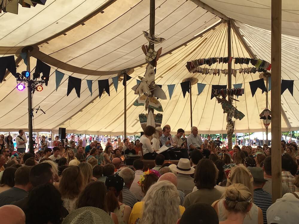 Forum at Wilderness Festival