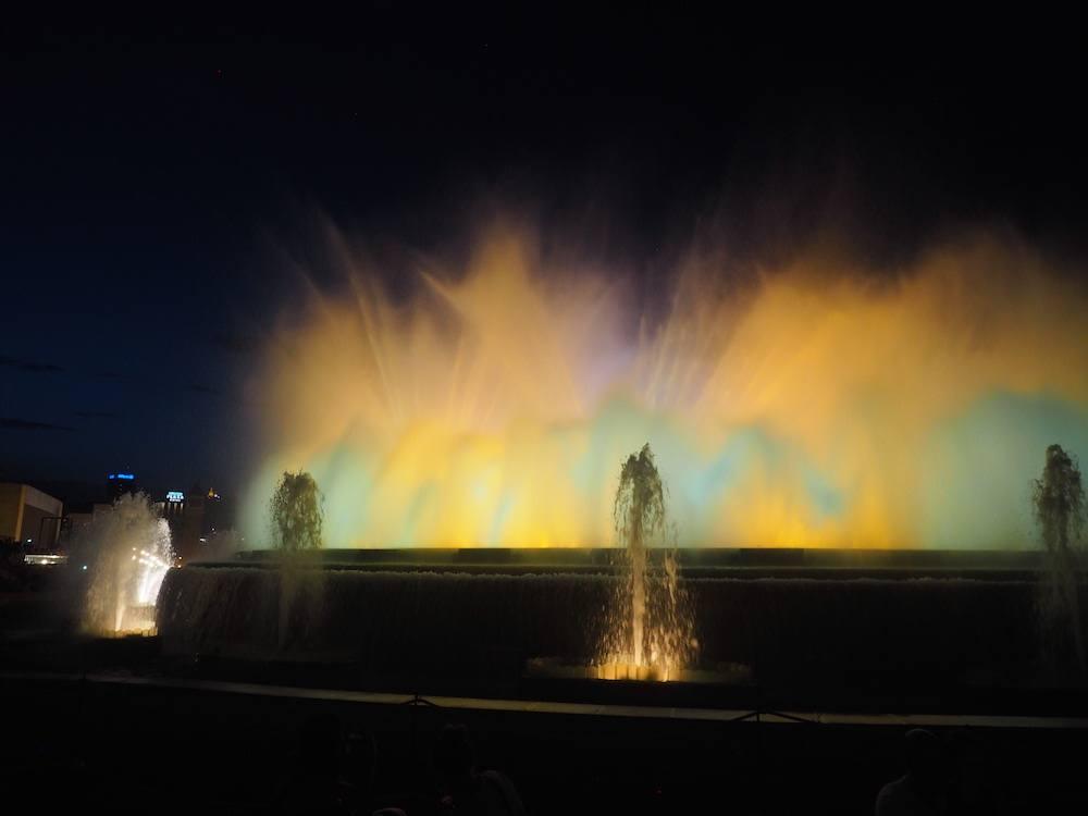 Barcelona Montjuic Fountains