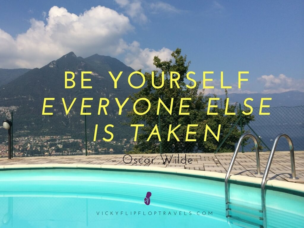 importance of being yourself in travel blogging