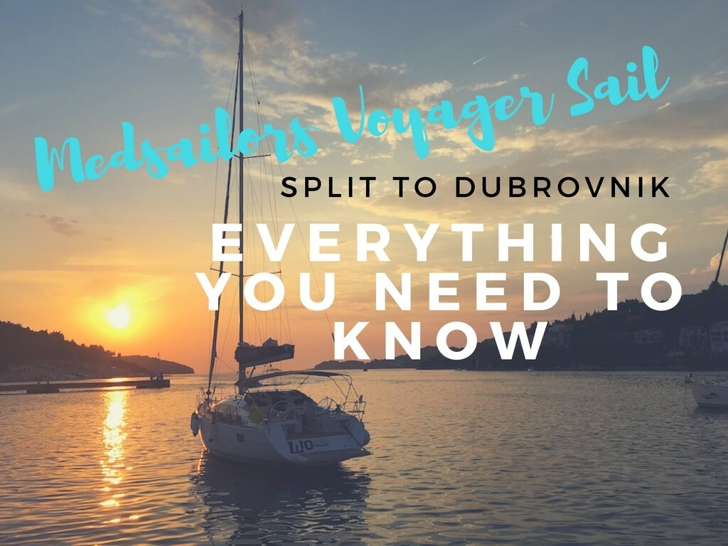 all you need to know Medsailors trip