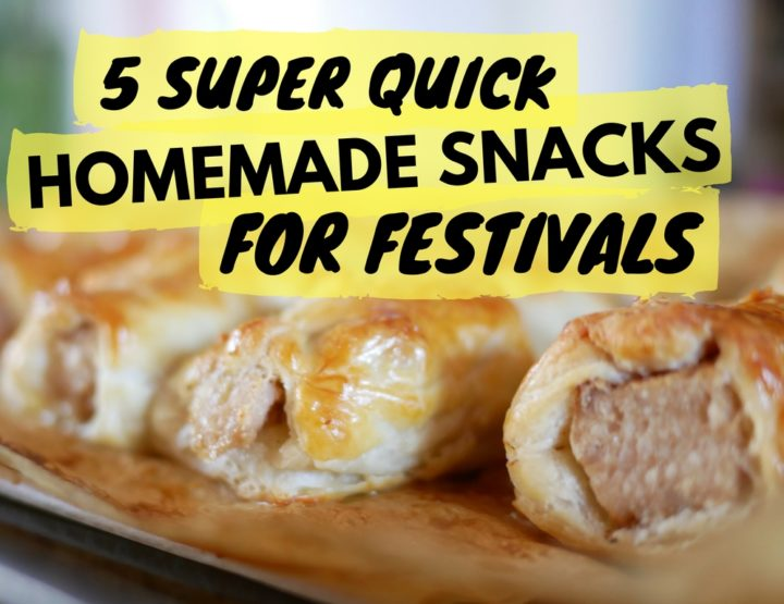 5 Super Quick Homemade Snacks for Festivals
