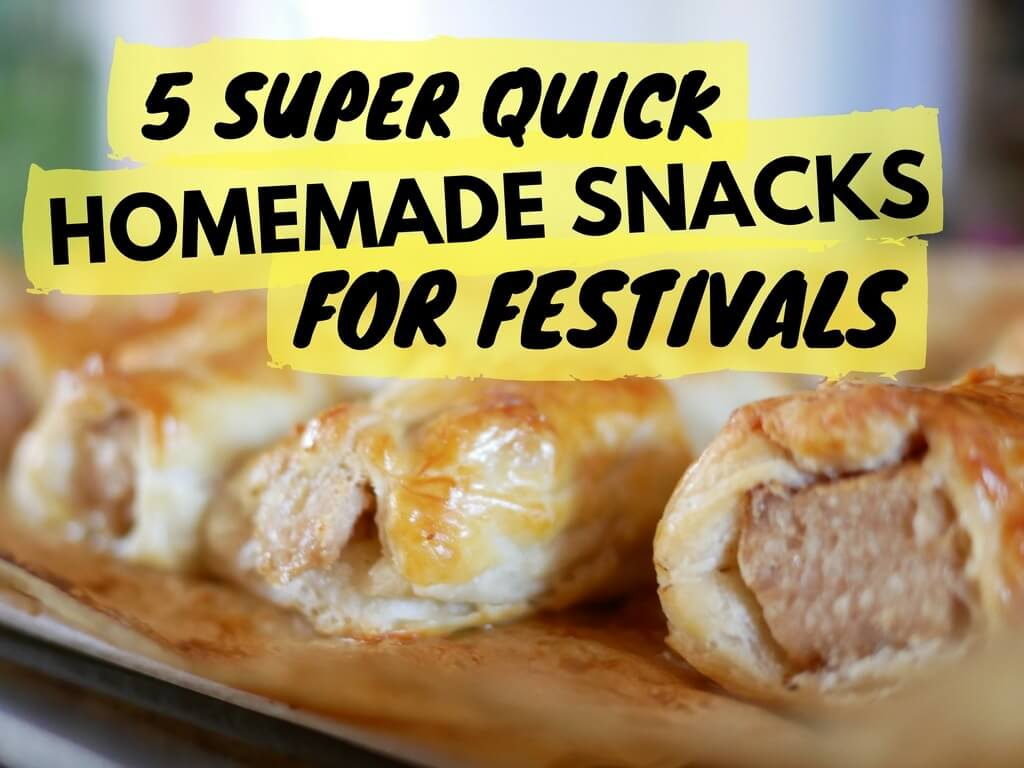 Homemade snacks for festivals