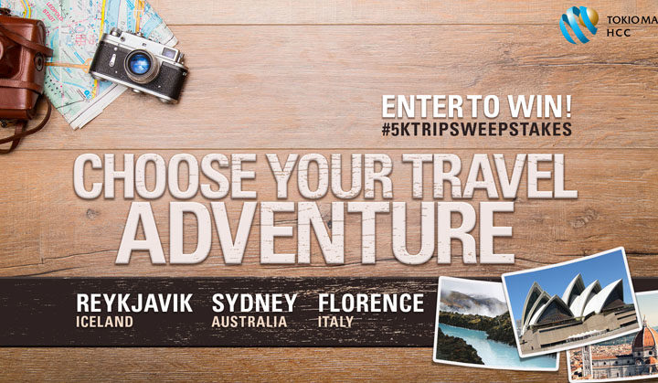 Win a $5000 Travel Adventure!
