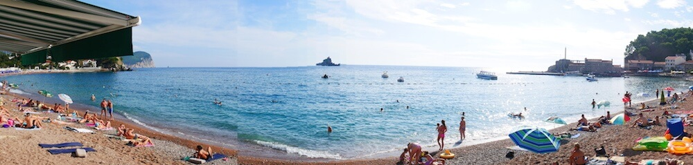 Beach at Petrovac