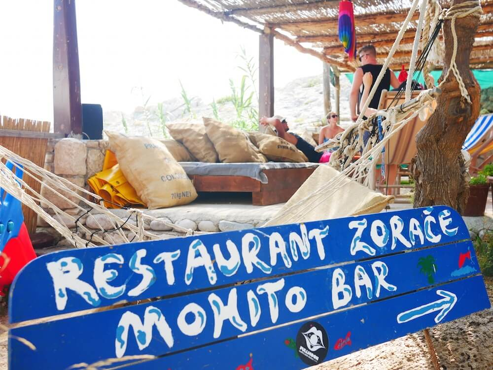 Mojito bar on the islands