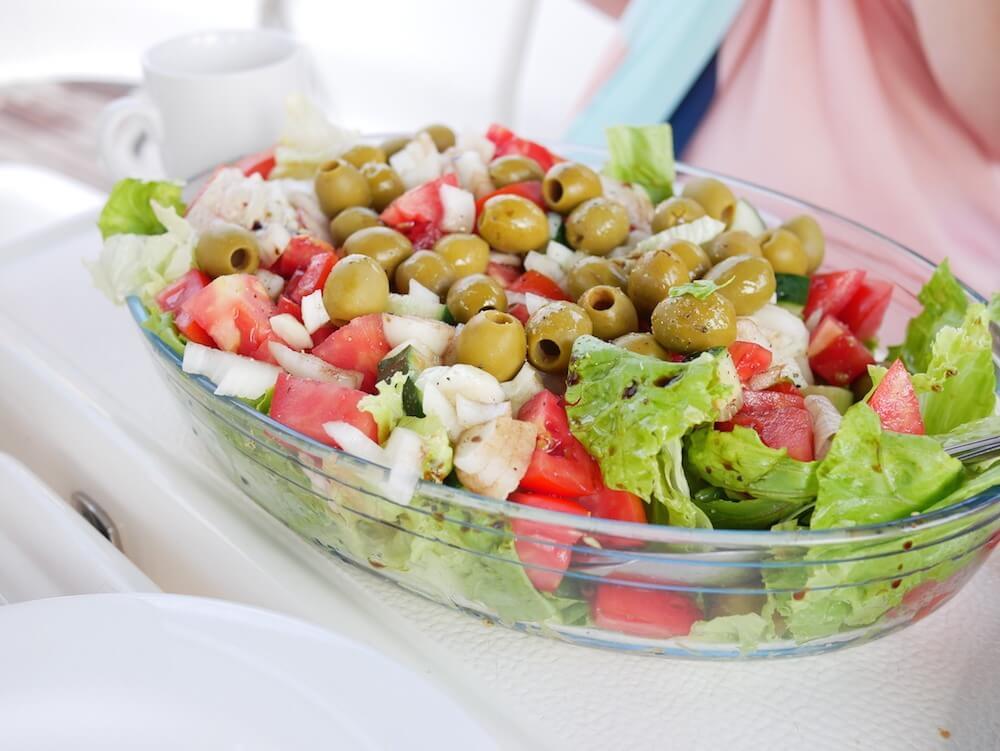 Medsailors salad Voyager