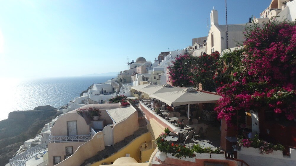 Exploring Santorini with Travel Talk Tours
