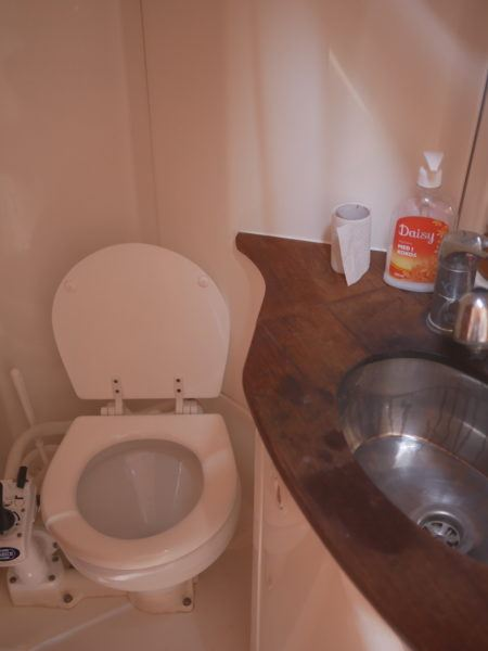 Voyager toilet Medsailors