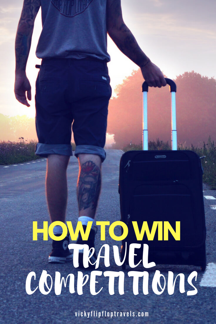 how to win travel competition