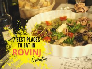 Best places to eat in rovinj