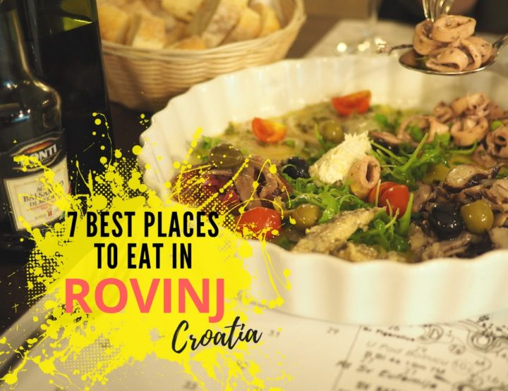 7 Best Restaurants in Rovinj, Croatia
