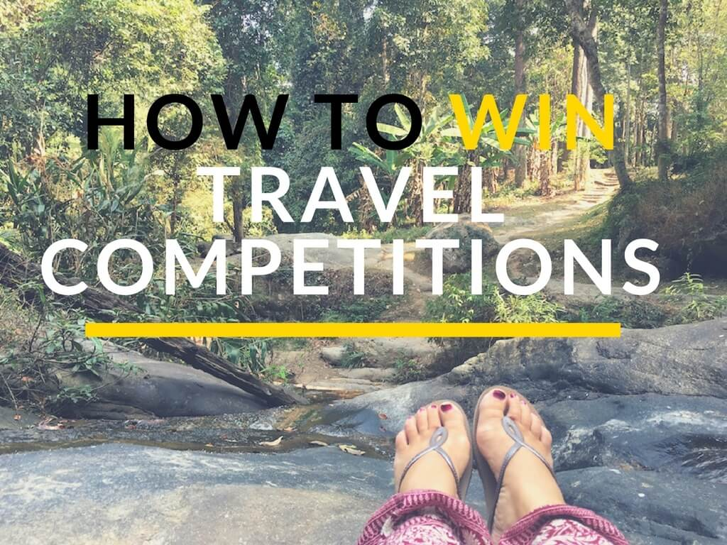 Winning travel competitions