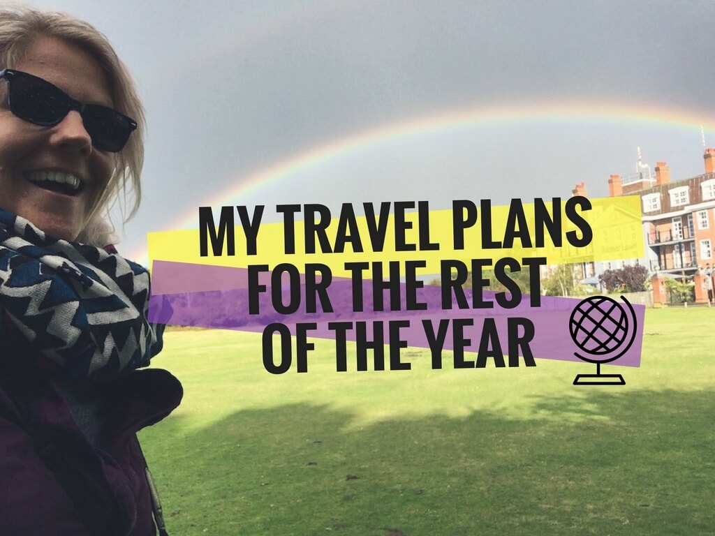 Travelling the year