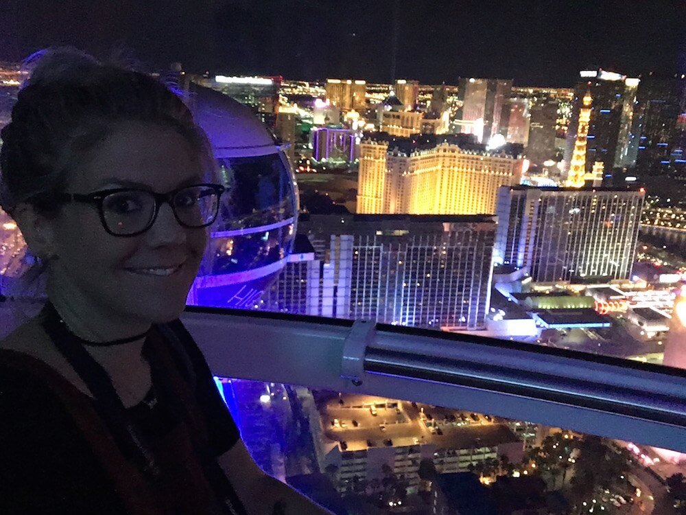 Me on the Observation Wheel Vegas
