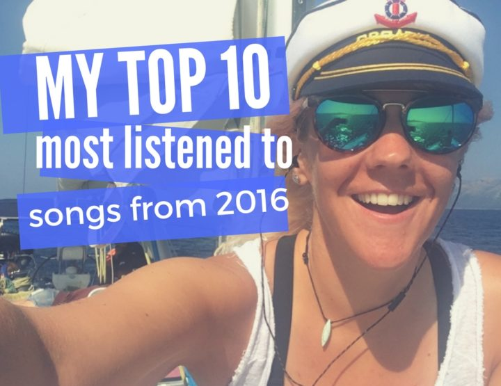 My Top 10 Most Listened to Songs of 2016