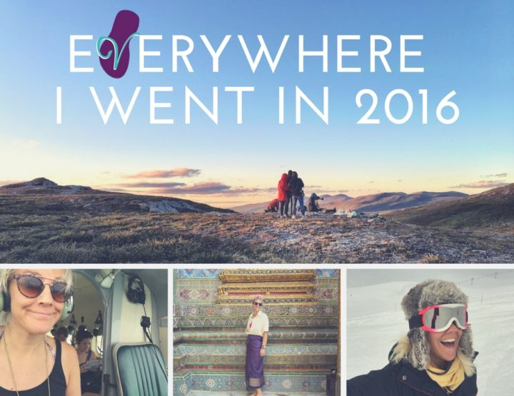 Everywhere I Went in 2016