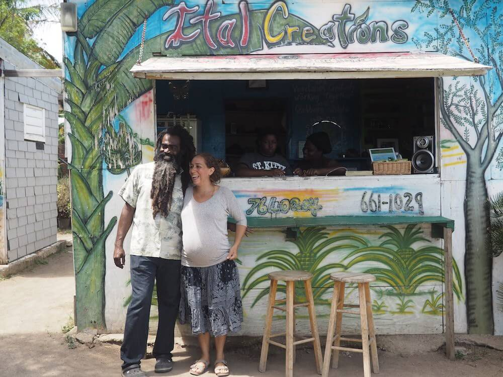 Food in St Kitts