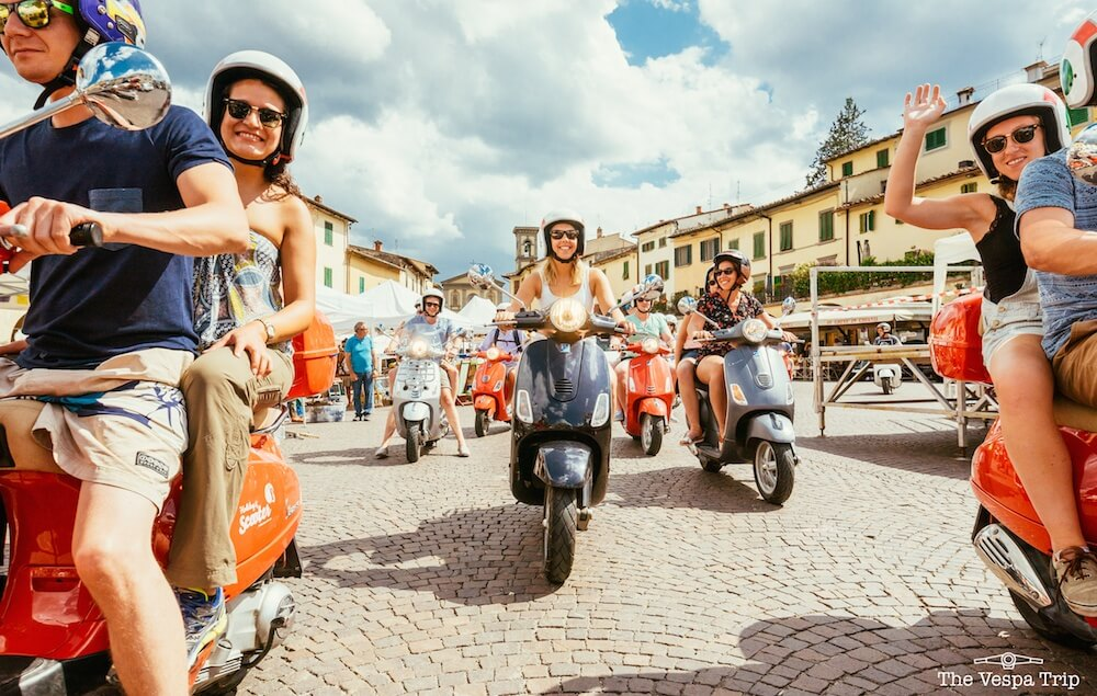 Vespa Trip through Italy