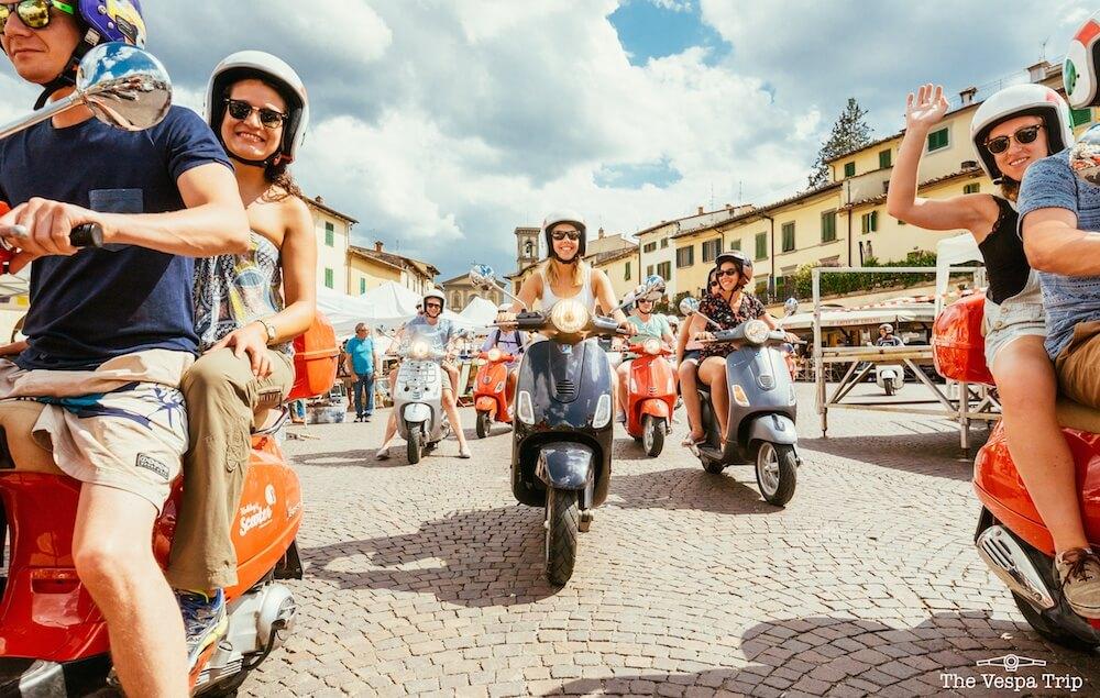 Vespa Trip through Italy