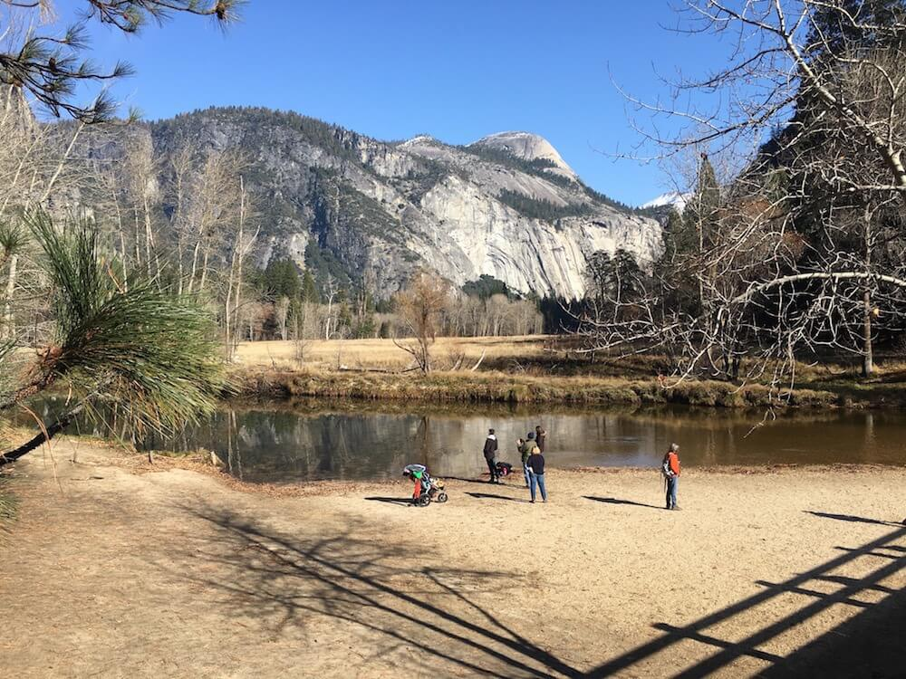 Yosemite with the LA to the BAy TOur