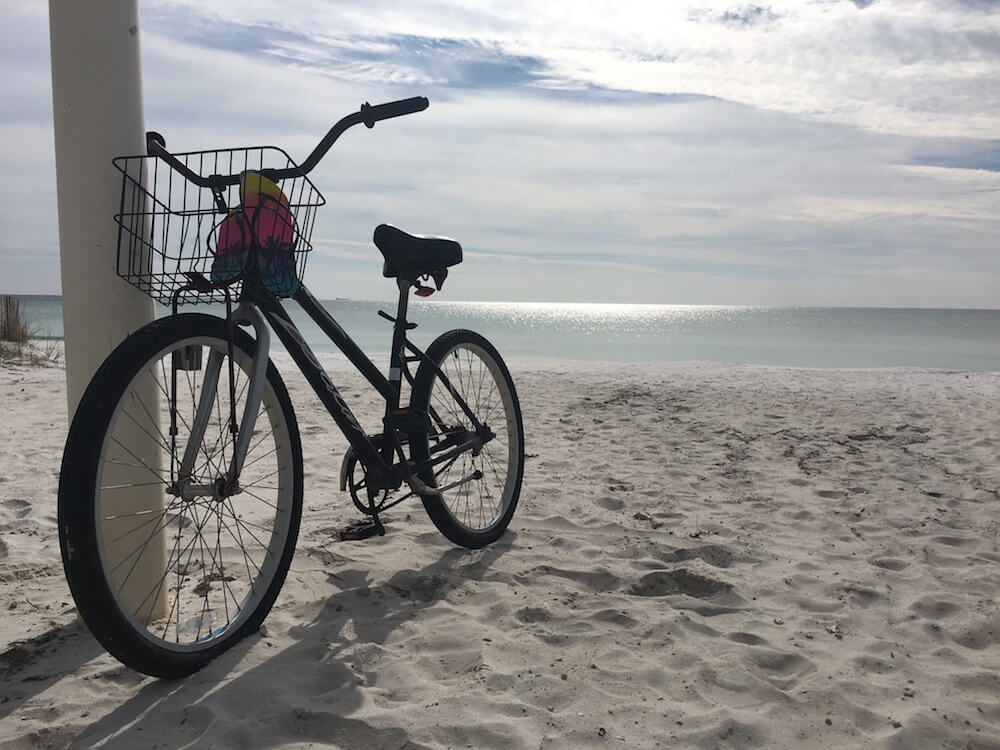 Cycling the Emerald Coast