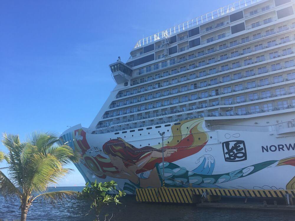 typical day on the Norwegian Getaway
