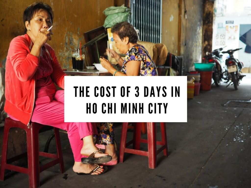 Price of 3 days in Ho Chi Minh City