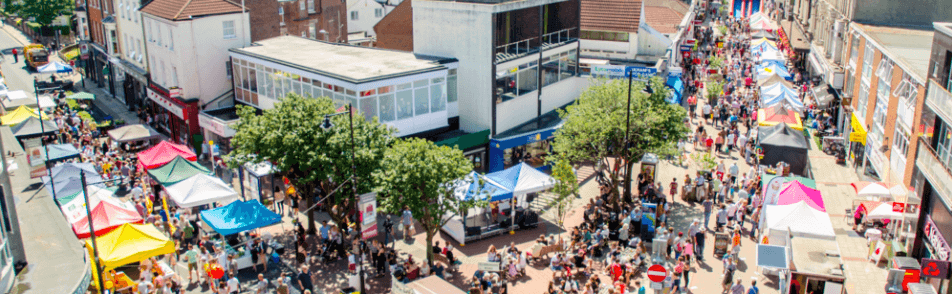 Food festivals in Southsea
