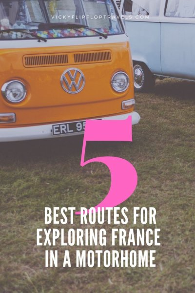 routes in france for motorhomes