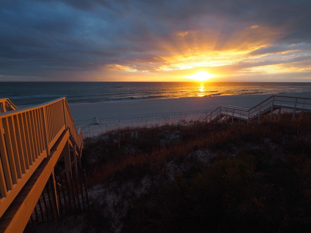 Look out over Panama City Beach