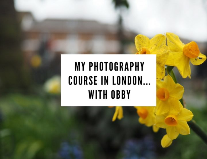 I Went on a Photography Course in London...