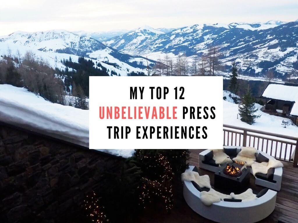Best press trip experiences