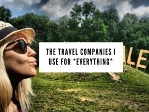 My favourite travel companies