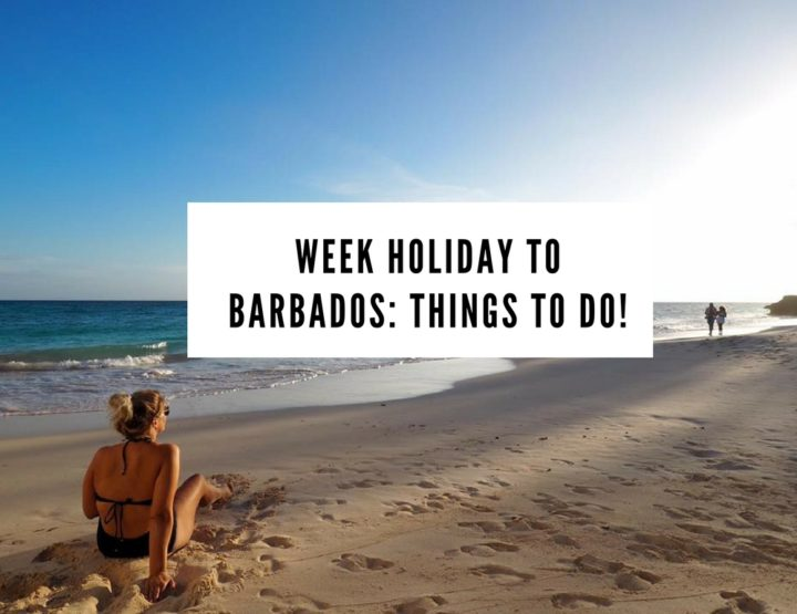 Week Holiday to Barbados: THINGS TO DO!