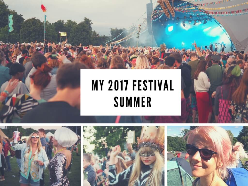 Summer of festivals 2017