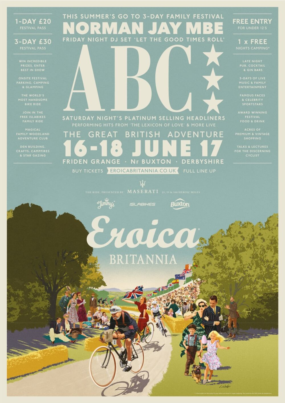 Poster for Eroica Brittania