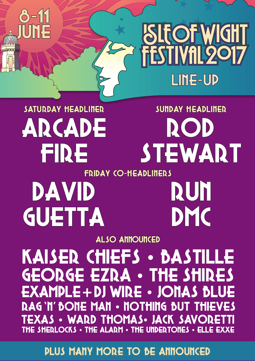 Isle of Wight Festival Line up