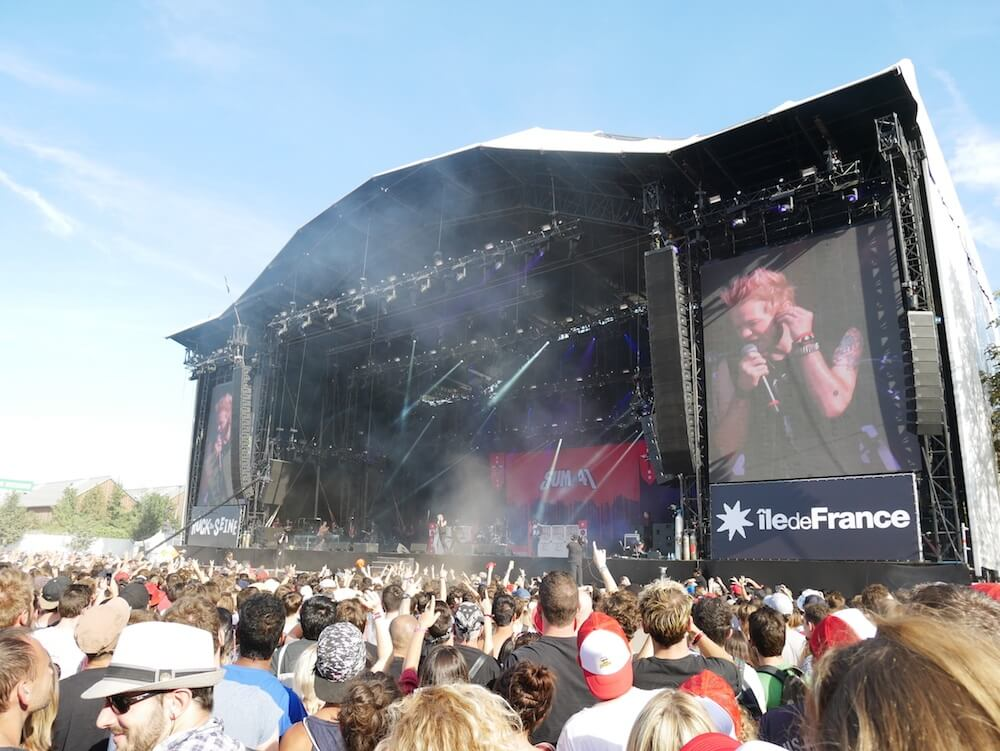 First time at Rock en Seine Festival