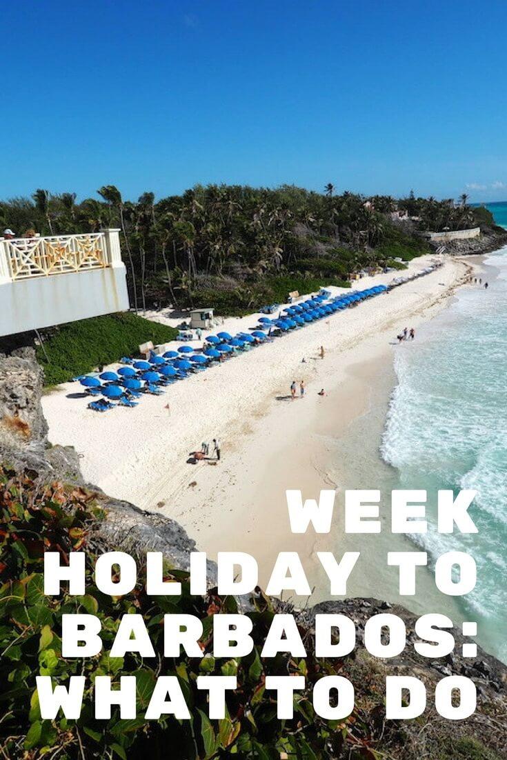 week in barbados holiday