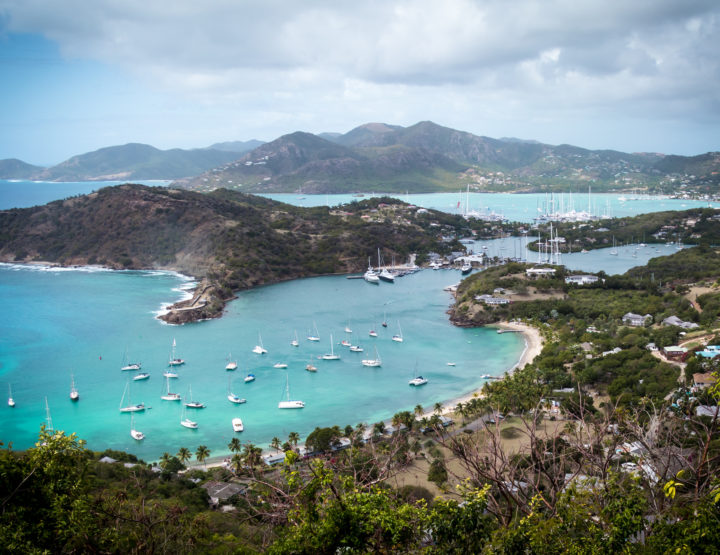 I'm Going to Antigua, for Sailing Week!